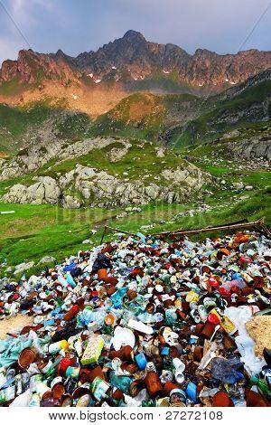 Mountain pollution