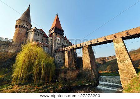 Corvinesti Castle, Hunedoara, Romania