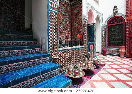 Moroccan interior architecture