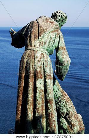 Symbol of Monterosso al Mare, Cinque Terre, Italy