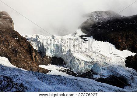 Eiger Glacier, Berner Oberland, Switzerland - UNESCO Heritage