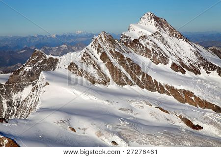 Mountain landscape, Berner Oberland, Switzerland - UNESCO Heritage