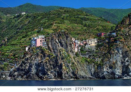 Corniglia Village, Cinque Terre, Italy