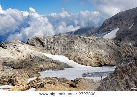 Hoch Koenig Alpine landscape, Austria, Europe