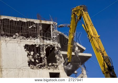 Demolition With Excavators