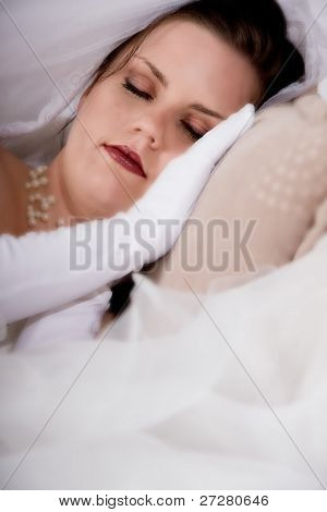 sleeping bride