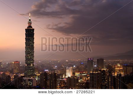 "It is the tallest building called ""Taipei 101"""