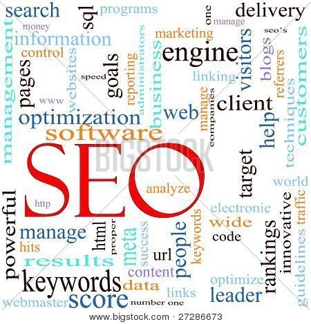 Seo Word Cloud Concept