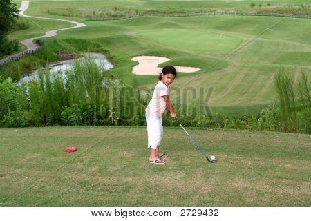 Kind, Golfen