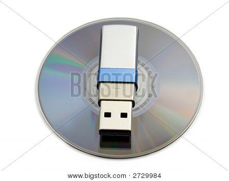 Storage Media, Usb Drive And Cd