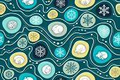 зимняя спячка паттерн 2 poster