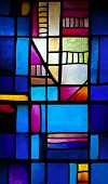 image of stained glass  - Abstract stained - JPG