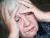 stock photo of snuff  - Migraine - JPG
