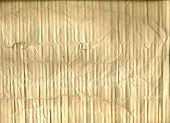 Old Crumpled Brown Paper Texture, Brown Wrinkle Recycle Paper Background, Creased Beige Paper Textur poster