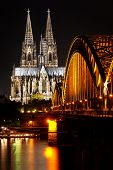 stock photo of koln  - Dom in Cologne - JPG