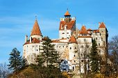 Bran Castle - Dracula`s Castle. Bram Stoker, who fashioned portions of his character Count Dracula b