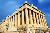 stock photo of parthenon  - Scenic view of Parthenon Temple - JPG