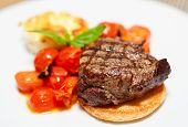 foto of chateaubriand  - Tasty steak - JPG