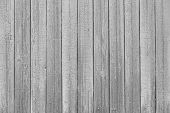 Old Painted Boards For Use As Background. Old Vintage Medium Gray Wooden Planks Background. Wood Tex poster