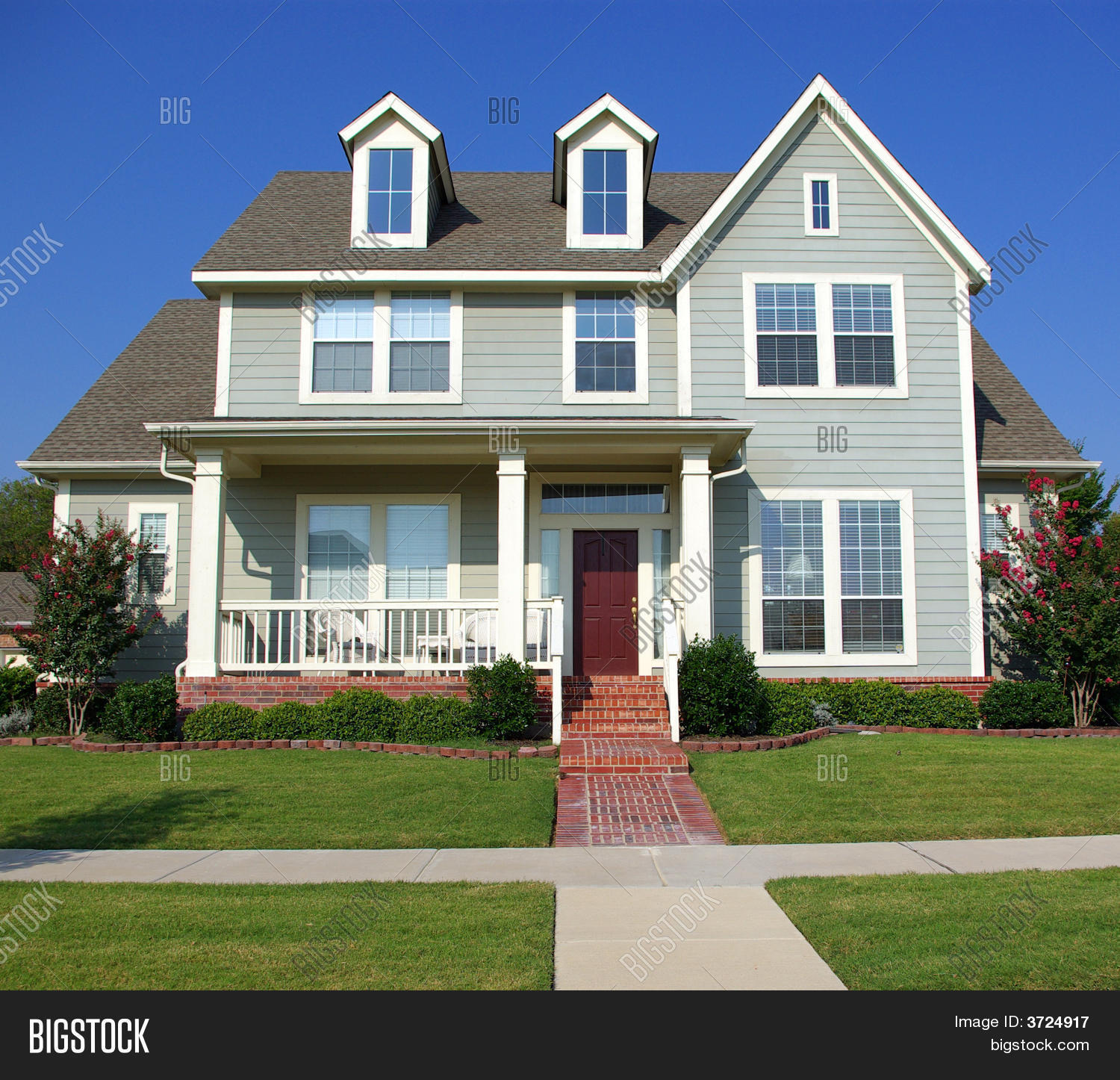 Victorian style american home stock photo stock images for Big two story houses