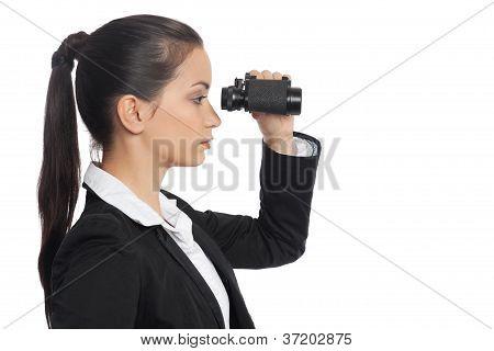 Asian Businesswoman With Ocular