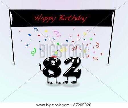 82. Geburtstag.