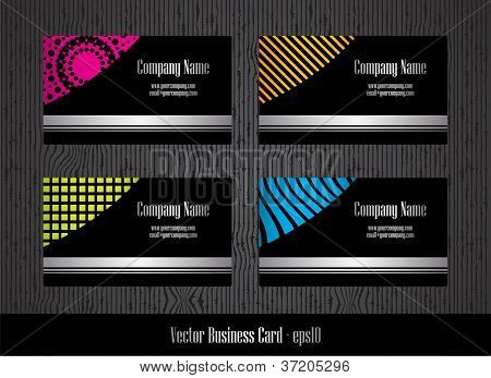 Stylish Business Card Template With Special Design