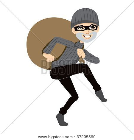 Happy Thief Sneaking