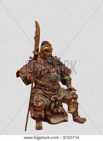 Sculpture Of Ancient General