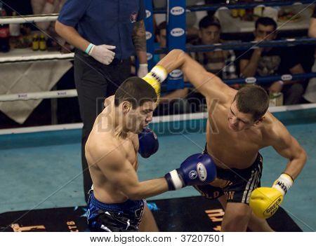 Winner D.larchenko(black) And Elkun Orudzhev(blue)