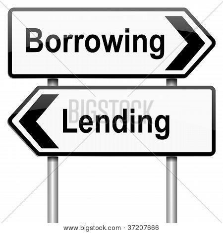 Lend Or Borrow.