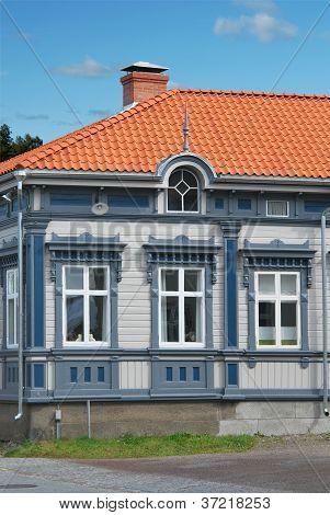 Restored Wooden House