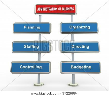 3D Business Administration