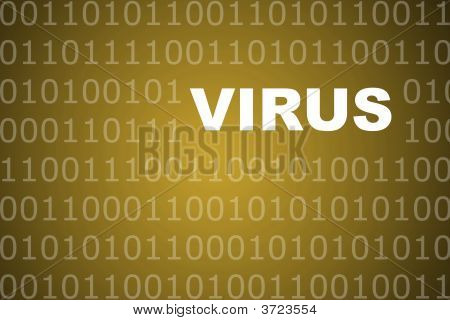 Virus Abstract Background
