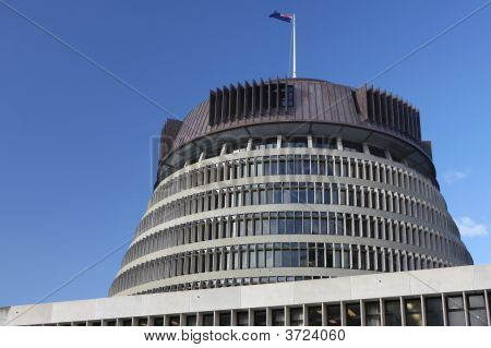 The Beehive, New Zealand Parliament