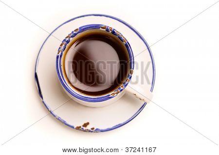 Tasse Kaffee, isolated on white