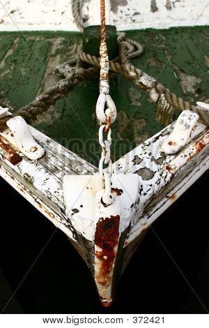 Green Boat Bow