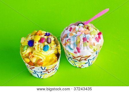 Colorido de Cupcake