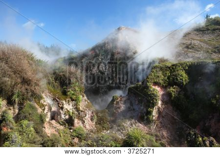 Geothermal Landscape, New Zealand