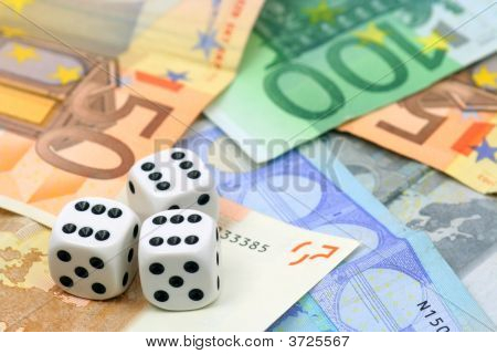 Dices And Euro Money