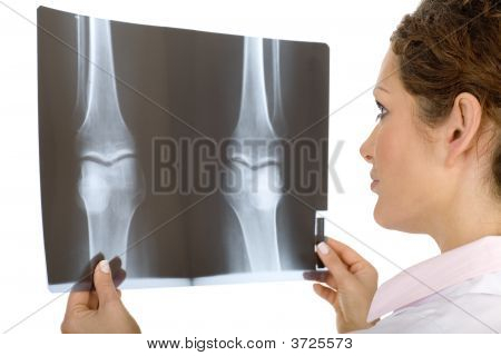 Doctor With X-Ray