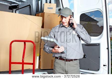 Glücklich Berufsschifffahrt Courier. Lieferservice PLZ.