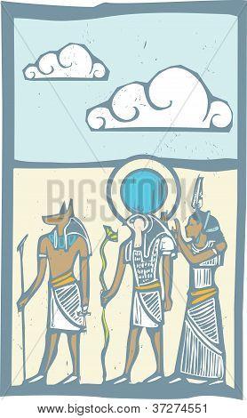 Hieroglyph Clouds