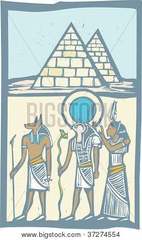 Hieroglyph Pyramids