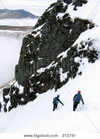 Mountaineers Descending