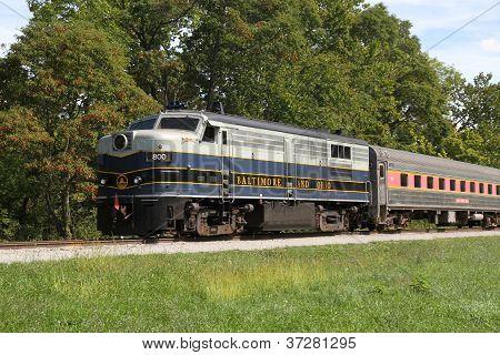 B & O locomotoras de Diesel