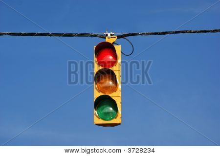 Single Traffic Light