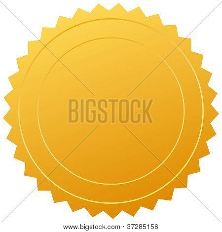 Vector certificate seal