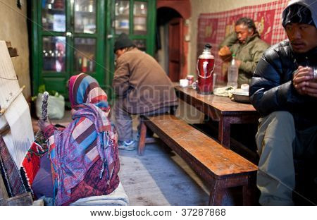 Refugiados tibetanos en Nepal