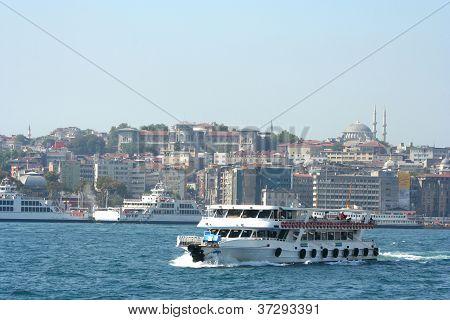 vessel in Bosporus